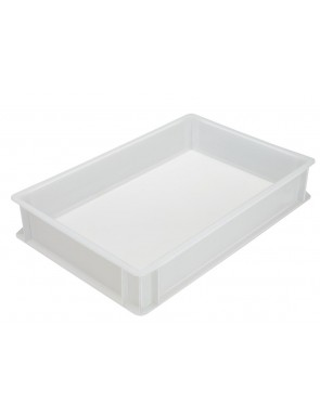 Pizza dough box made of food-safe plastic