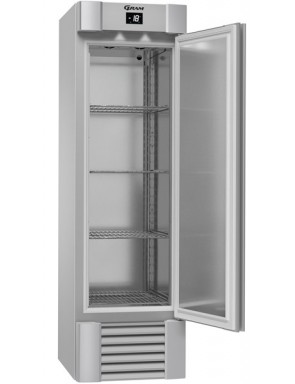 Fridge GRAM 1 stainless steel door, freezer