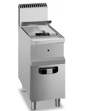 Deep fryer gas with 1 basin