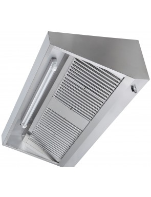 Wall hood without motor,...