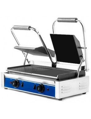 Electric contact grill -...