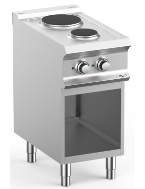 Electric cooker with open...