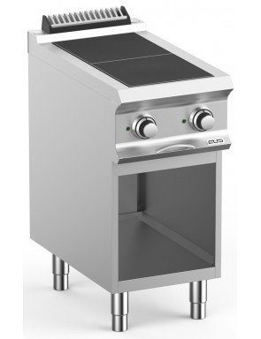 Electric cooker with base...