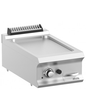 Gas grill plate smooth, 7 kW