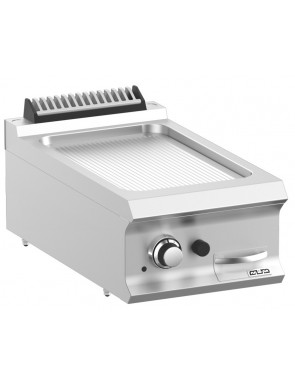 Gas grill plate grooved, 7 kW