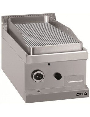 Grill plate Grooved-1x 5,5 kW
