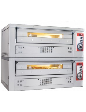 Gas pizza oven 2 chamber...