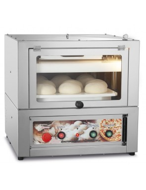 Pizza dough rounder and...