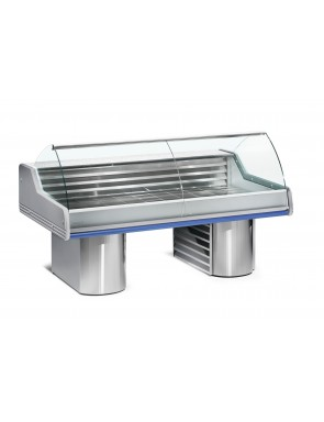 Refrigerated sales counter...