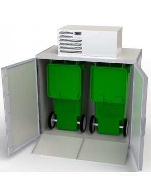 Waste cooler ready to plug...