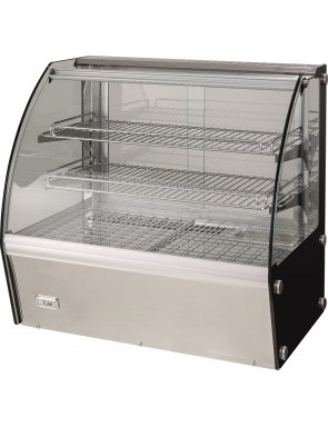 Heated showcases, with...