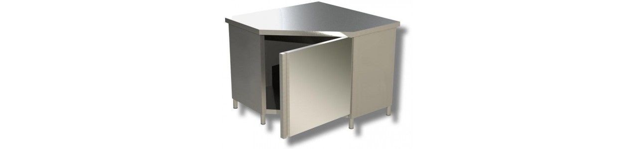 Corner work cabinets - Made in Italy -