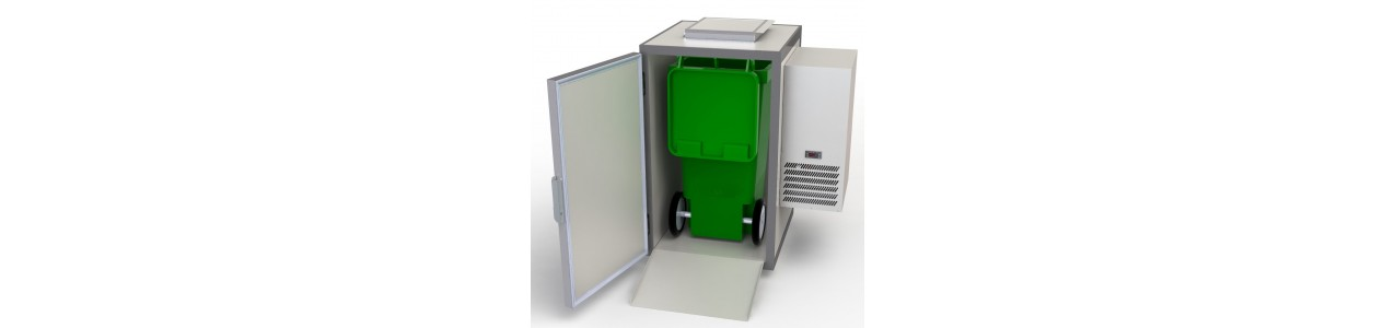 Waste cooler ready to plug