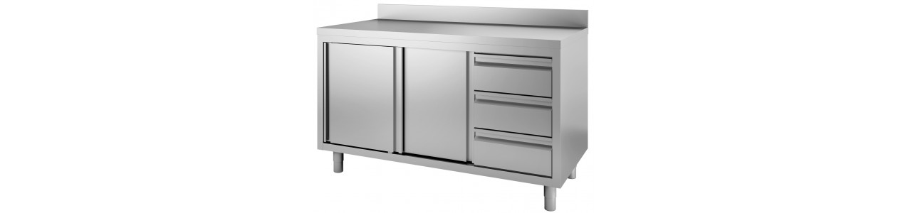 work cabinets